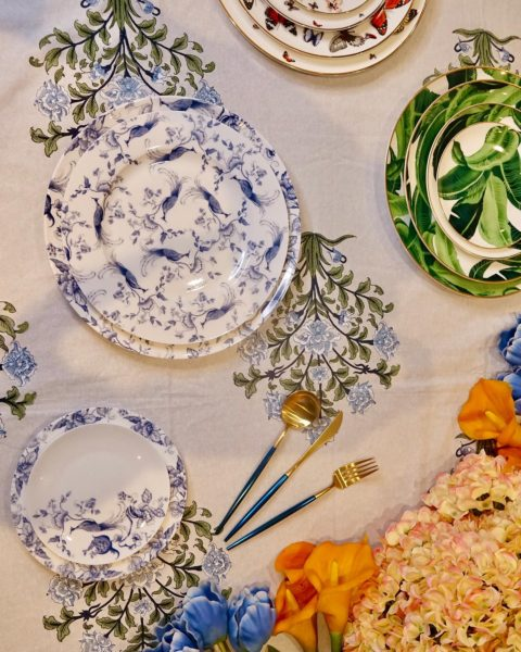 Global luxe: Renaisaance Homez' founder Angie Kripalani launches a new wedding registry service with decor pieces curated and designed by her