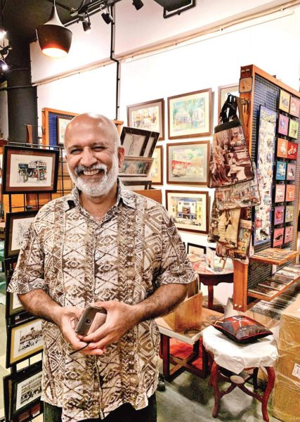 Gallerist and cartoonist Paul Fernandes on his latest labour of love, his book Coastline that circles in childhood experiences of driving along the Arabian coast