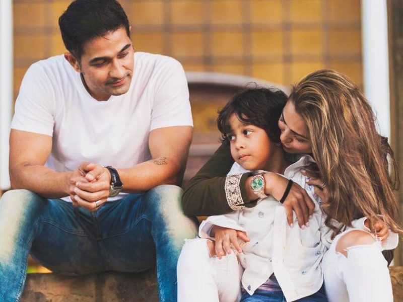 Actress and fashion icon Amrita Arora believes in enjoying the little pleasures of life with her kids.