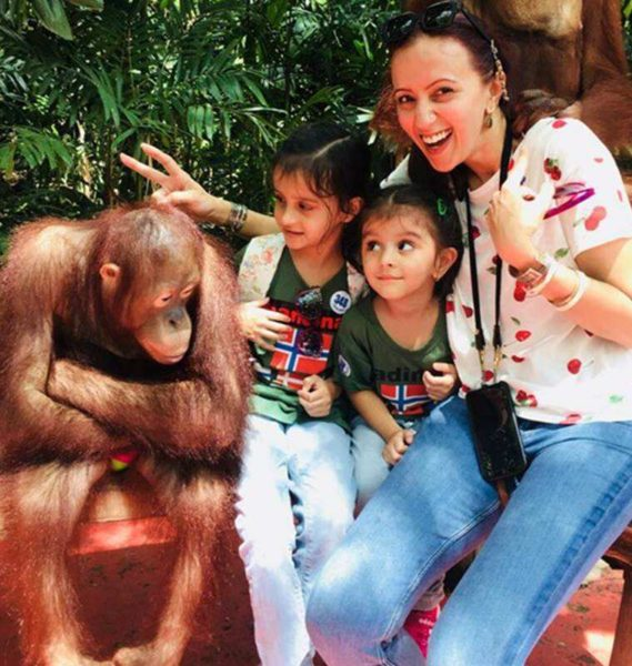 Actor Ishitta Arun believes perspectives change when you become a parent. She has chosen a slower pace of life with her kids now