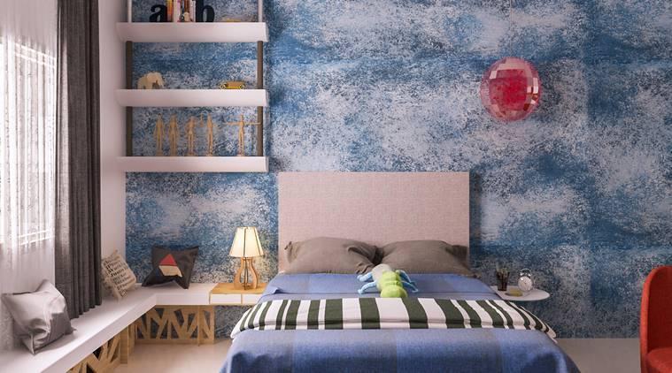 Interior decoration for teenage boy's room