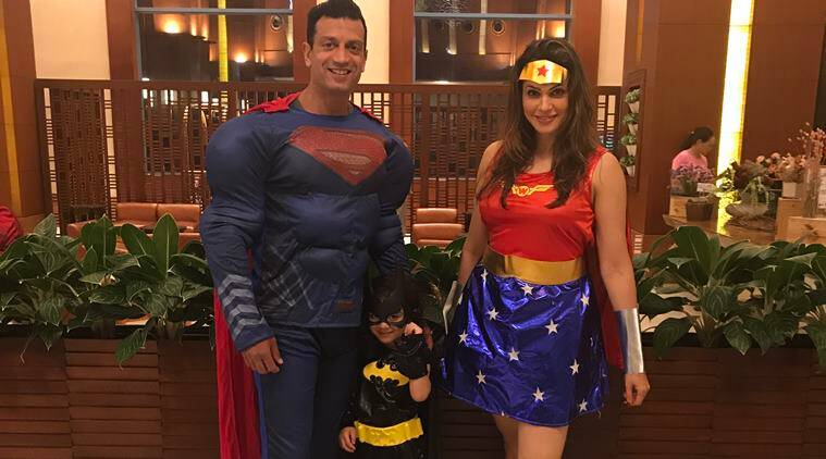 Actor Isha Koppikar considers it a great boon, to be able to raise her single child in a joint family, with so much love around