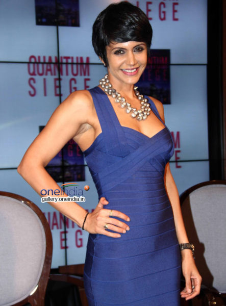 Television  show host Mandira Bedi is a busybee: between shoots, launching her line of sarees and teaching her son, she has her hands full