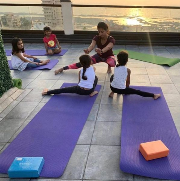 Children learn to focus and concentrate better when they practise yoga says yoga expert Sabrina Merchant